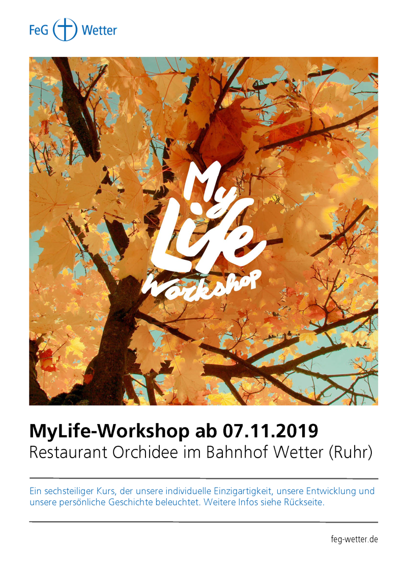 MyLife Workshop 2019